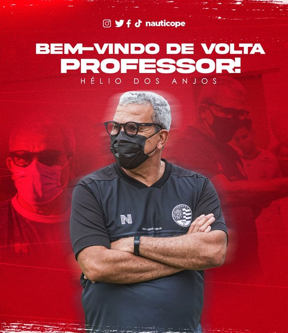 RT @FolhaPEesportes: VOLTOU   Náutico oficializa retorno de Hélio dos Anjos https://t.co/AzyrRiqUoI https://t.co/UT0k7tbjiq