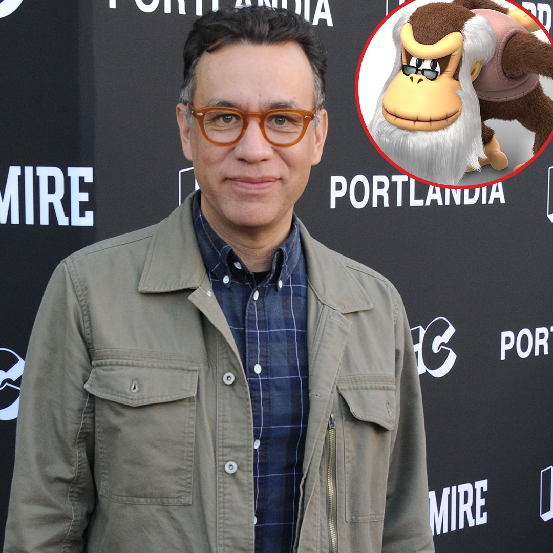 Comedian Fred Armisen will voice Donkey Kong in Super Mario Movie
