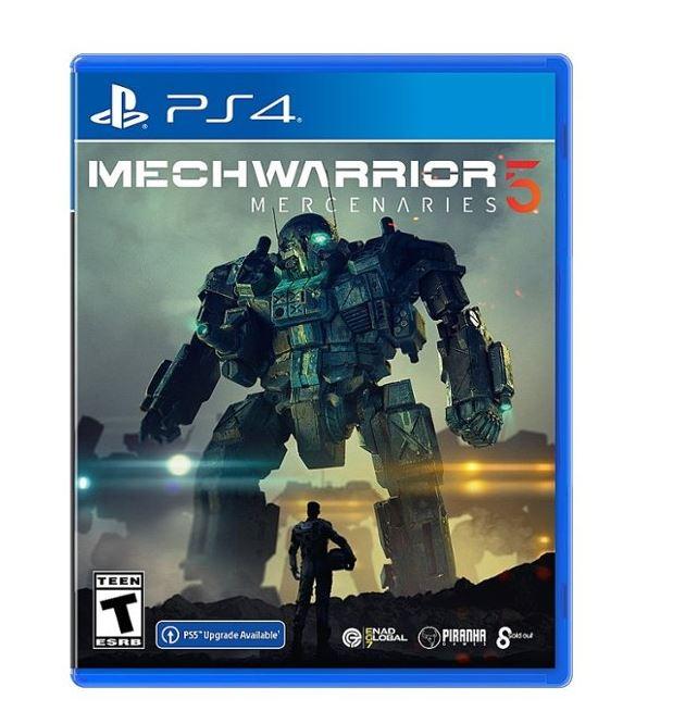 Pre-Order: MechWarrior 5: Mercenaries (PS4/PS5/X1/X) $29.99 via Best Buy.