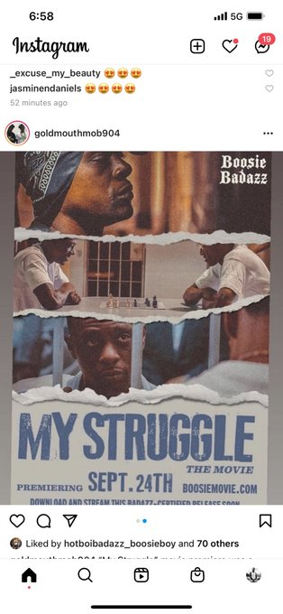 Where To Watch Boosie S Movie My Struggle Streaming Details And All You Need To Know