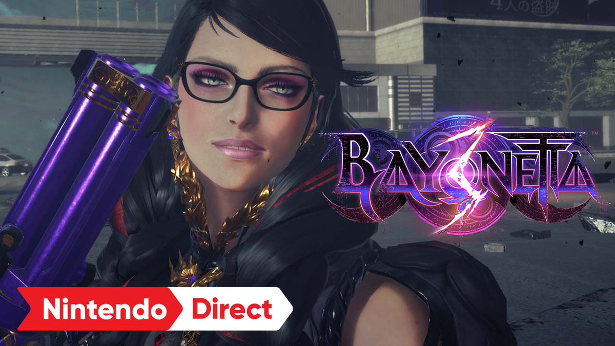 This is one of the top 5 reasons why I got a #NintendoSwitch. Thank you for sharing a gameplay trailer @platinumgames #Bayonetta3