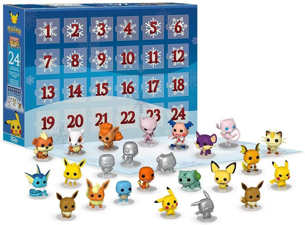 Funko Pop! Advent Calendar: Pokemon pre-order on Amazon:   $39.99
