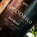 Image for the Tweet beginning: • COCODRILO • Red Blend 2017