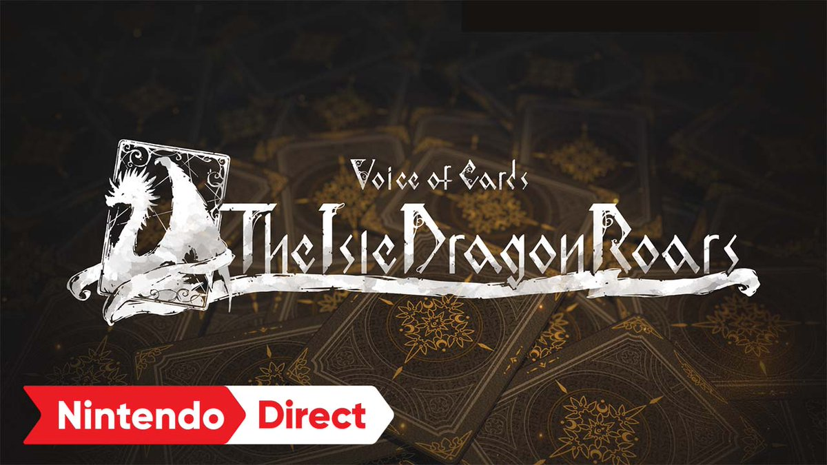 Welcome to Voice of Cards: The Isle Dragon Roars, a spellbinding card-based RPG with an enchanting, narrated fantasy story. #VoiceOfCards comes from the minds of YOKO TARO & Yosuke Saito. Download the demo now & play the full game 10/28! #NintendoDirect  https://t.co/RTGKj6Iw0k https://t.co/ItlrjVudwM