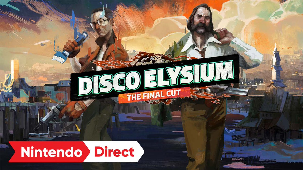 It's almost time detectives 🕵️  The definitive edition of the groundbreaking role-playing game @DiscoElysium - The Final Cut by @studioZAUM is coming to #NintendoSwitch on Oct. 12! #NintendoDirect  Pre-order today: https://t.co/6OTZoT4HC8 https://t.co/ZZb5XVRjpO