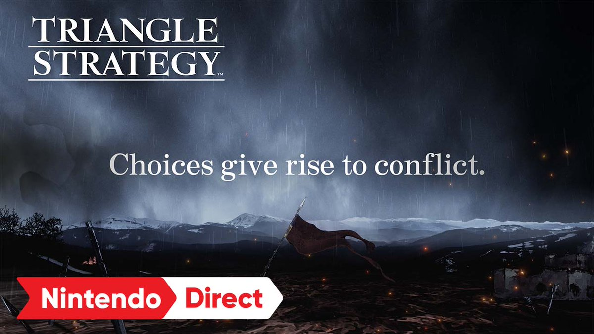 The HD-2D tactical RPG from SQUARE-ENIX, TRIANGLE STRATEGY leads you through a riveting story that changes based on your decisions. Your strategies & conviction will guide your fate in the end.  TRIANGLE STRATEGY launches 3/4/22! Pre-order: https://t.co/WkGxfKSjnV https://t.co/gjX14zaatj