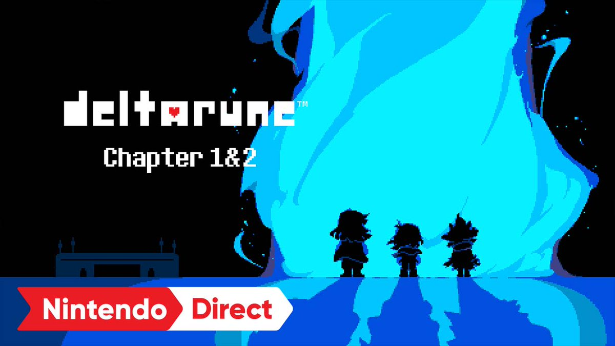 Continue Kris' journey through the Dark World in DELTARUNE Chapter 2, available as a free update now on #NintendoSwitch! #NintendoDirect  https://t.co/XkA3aGHWOY https://t.co/WZ1R7FcCEi