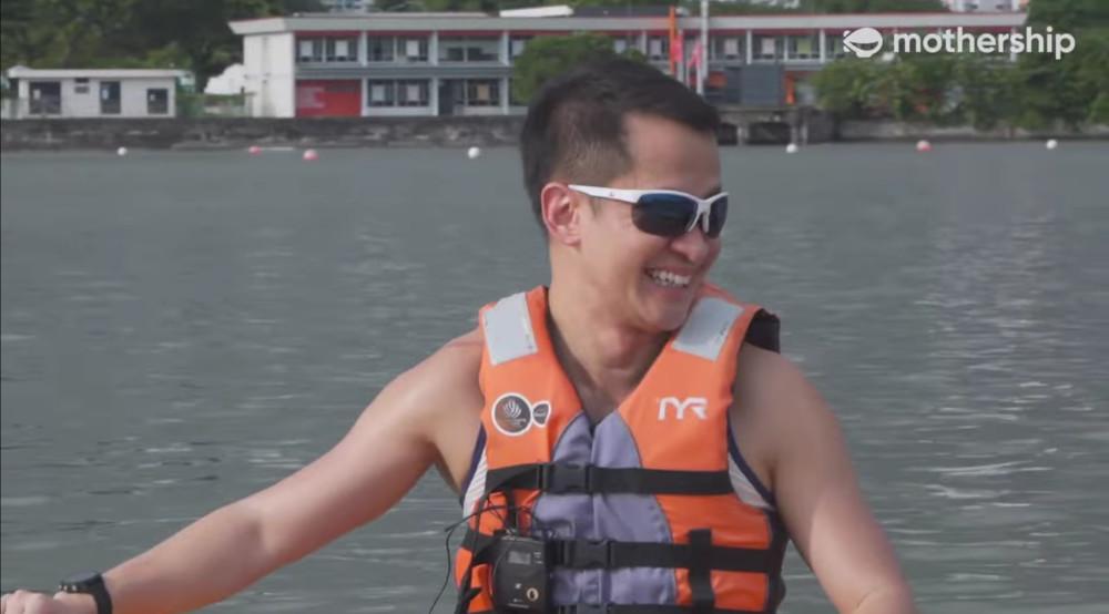 Lionel Yeo fields an interview in sporting and sporty fashion https://t.co/wPNqt088Em https://t.co/200y0YuWJt