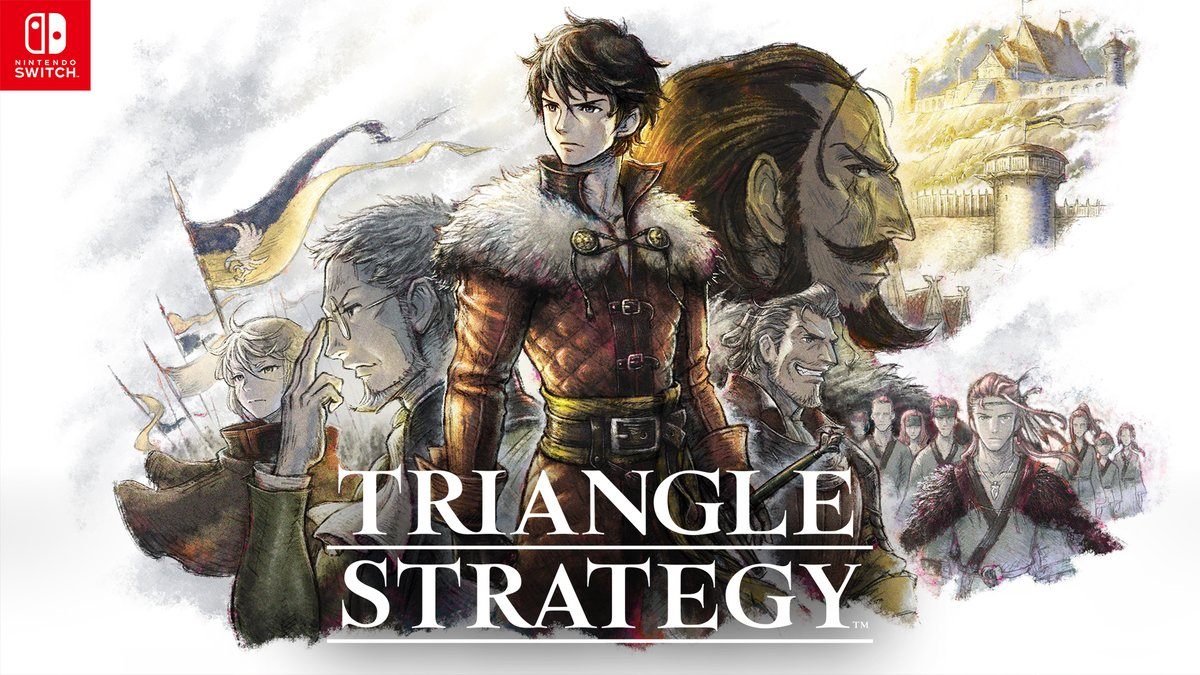A survey for the demo version of TRIANGLE STRATEGY was sent out earlier this year. The game has received various updates based on the feedback, including adjustments to difficulty & on-screen visuals, game flow, and more!  https://t.co/uXwHzHxENE https://t.co/3QuQnHpiHt