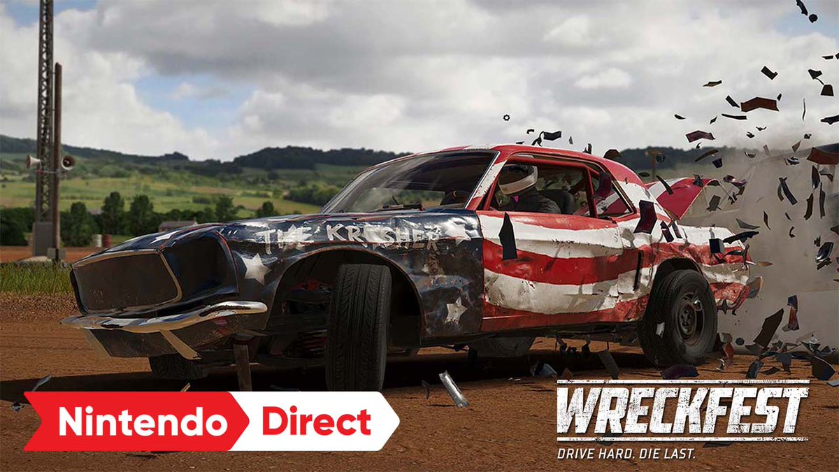 Get ready to enter the demolition derby! #Wreckfest races onto the scene with awesome cars, customization, & wild Challenge modes that might have you demolishing a lawn mower. And don't forget to wreck your friends in multiplayer modes! Launching Fall 2021.   #DriveHardDieLast https://t.co/jytMzIWJtb
