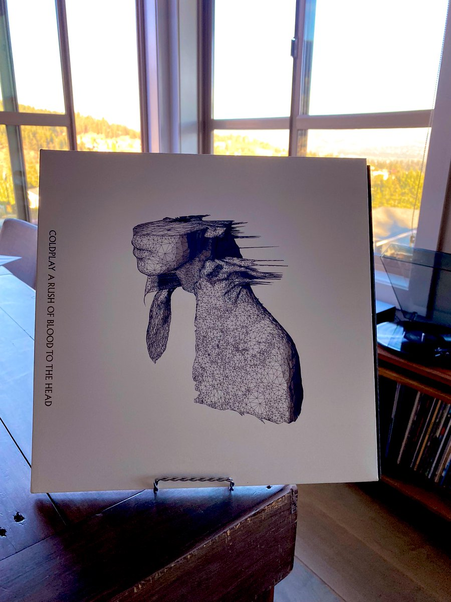 Coldplay- A Rush Of Blood To The Head. My favourite of theirs. #vinylrecords #vinylcommunity #Coldplay https://t.co/MWCPRK3lzv