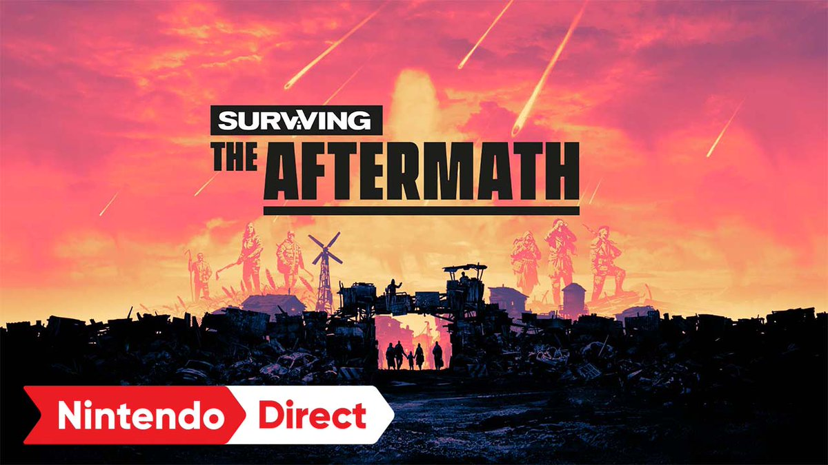 The end of the world is just the beginning.  Survive and thrive in a post-apocalyptic future. Leveraging scarce resources, you must build the ultimate disaster proof colony and restore civilization to a devastated world.   Surviving the Aftermath launches Winter 2021. https://t.co/4nbPwm1sey