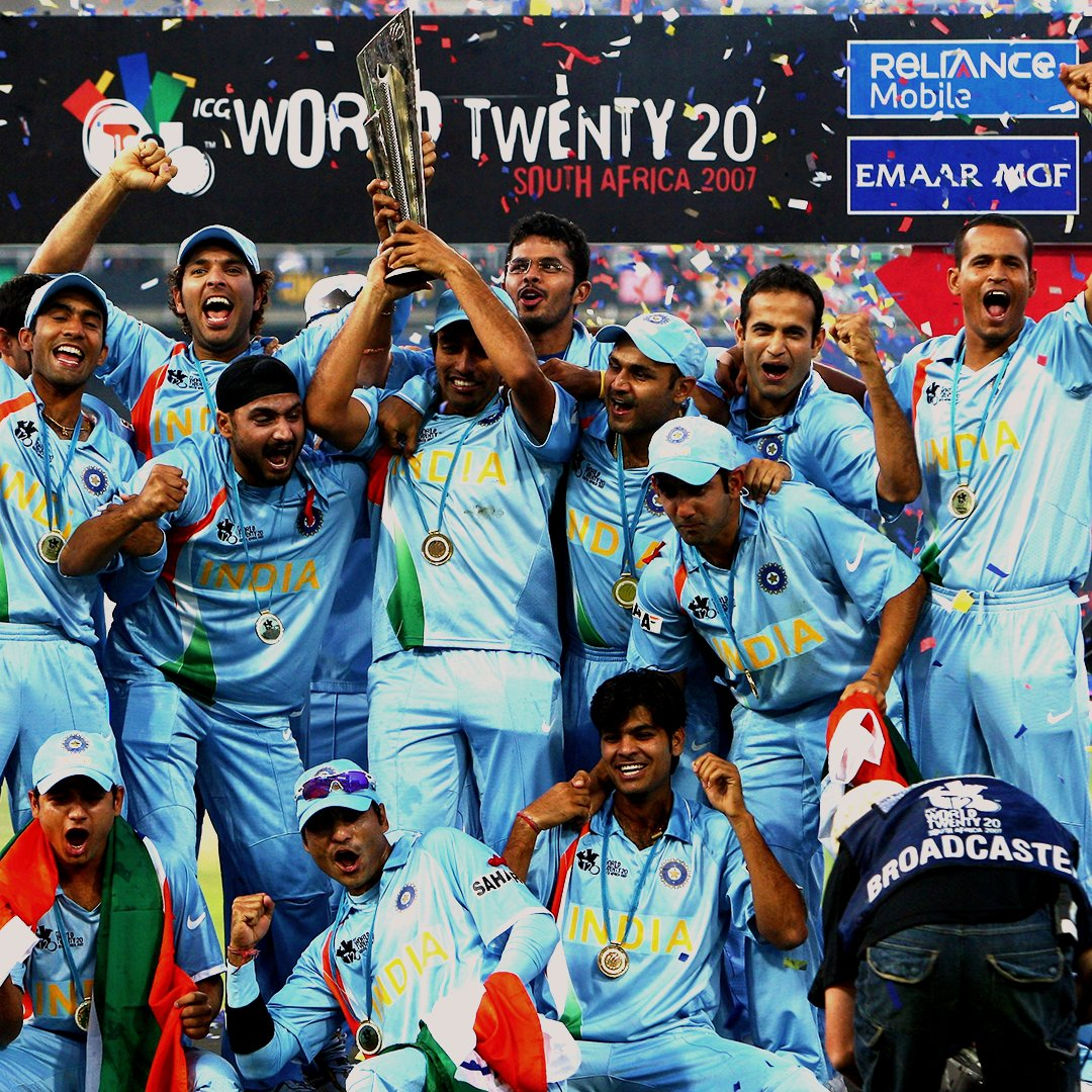 India winning the 2007 #T20WorldCup Final is the winner of the @postpeapp Greatest Moments match-up 9️⃣ https://t.co/pjxpzYooua