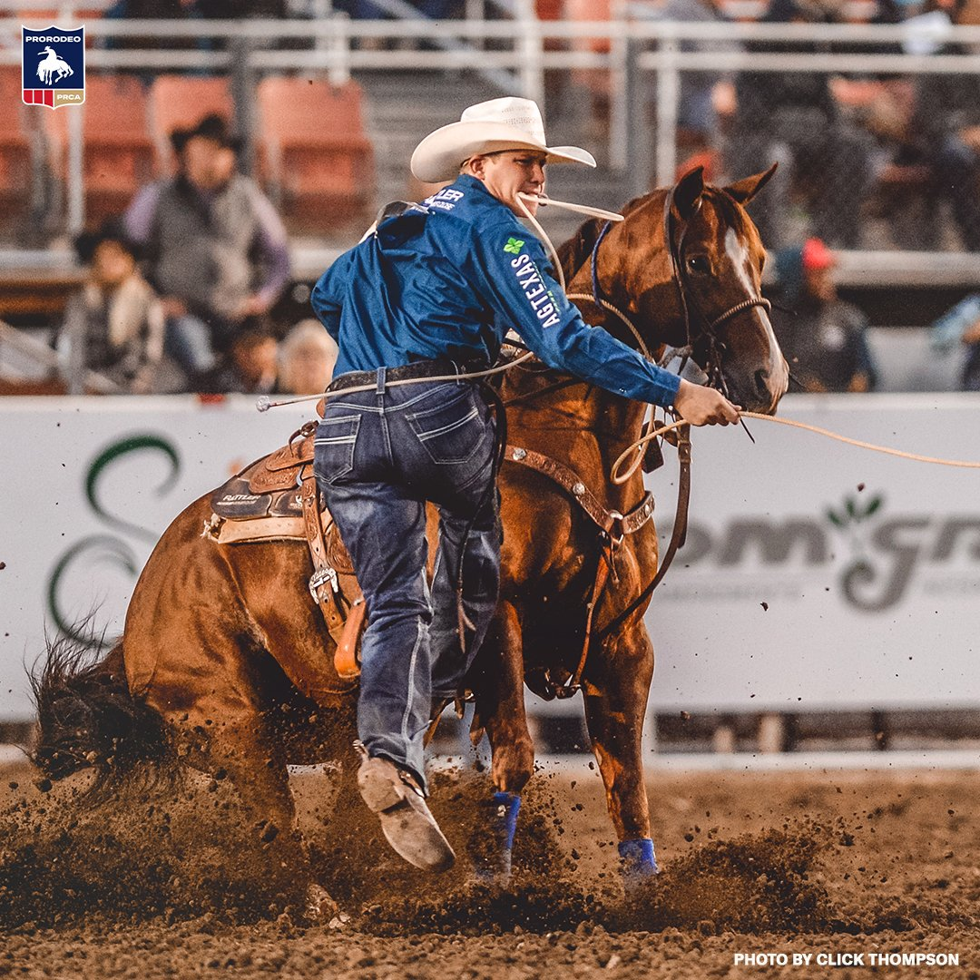 RT @PRCA_ProRodeo: Marty Yates takes tie-down roping lead at ProRodeo Tour Finale >> https://t.co/usxxtJy8t4 https://t.co/VmEZgso29e