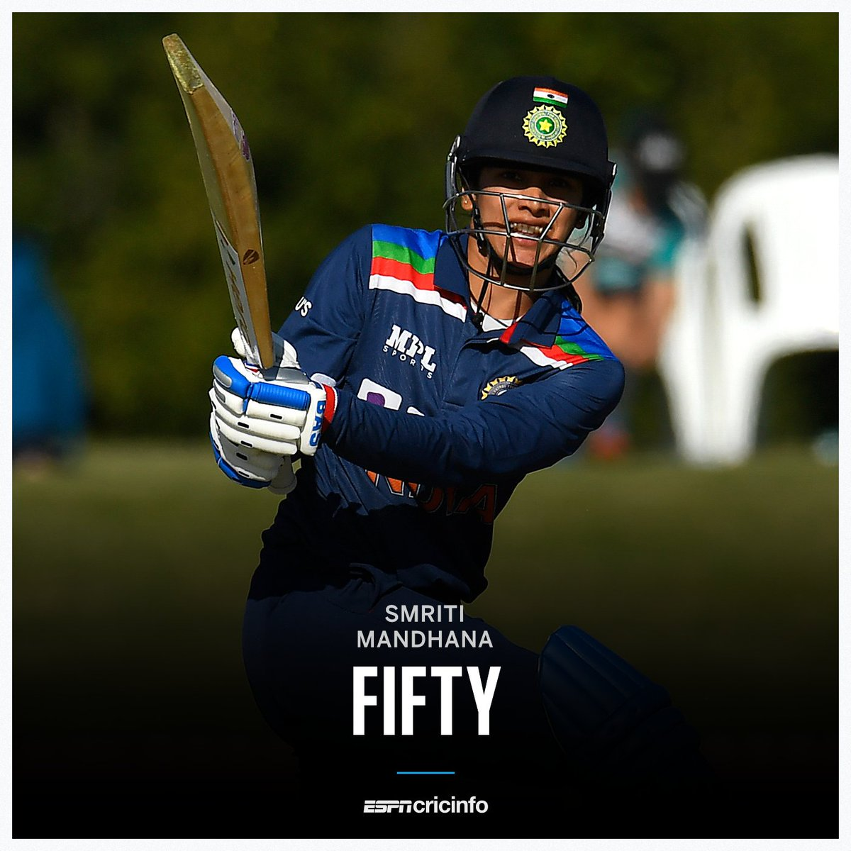 @ICC A Brilliant Classic 50* from one of the most Consistent Indian Cricketer  Carry On @mandhana_smriti  #AUSvIND