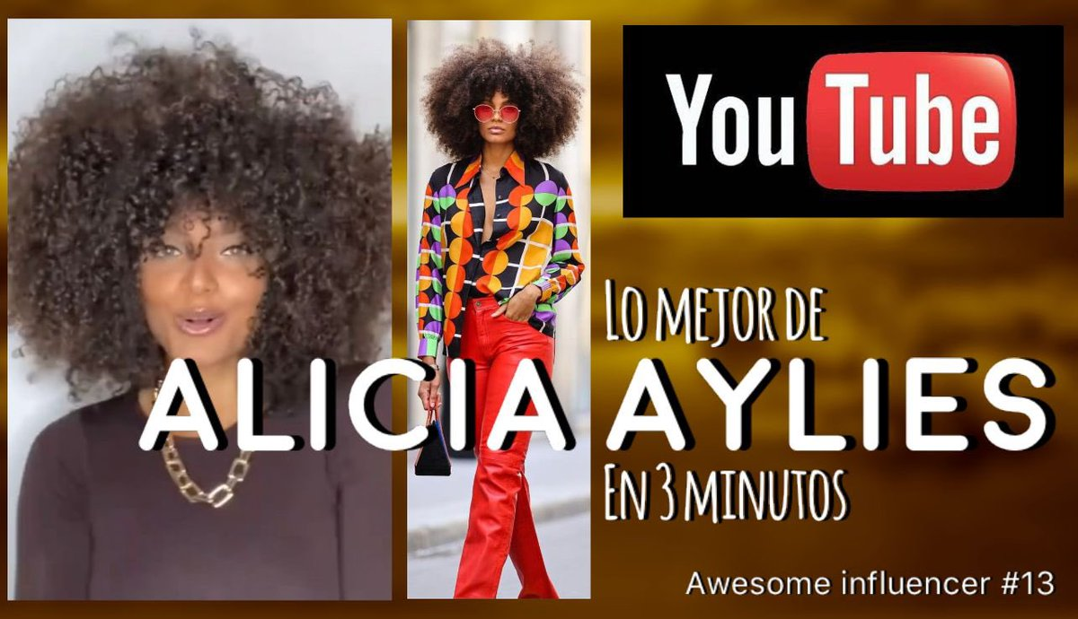 The best of Alicia Aylies in 3 minutes, Alicia Aylies, top model, beauti... https://t.co/P5G6So557t vía @YouTube https://t.co/lIoAqumimJ