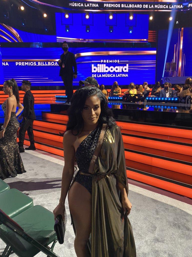 Photos: WWE Star Zelina Vega Sizzles At Latin Billboard Awards 2021 5