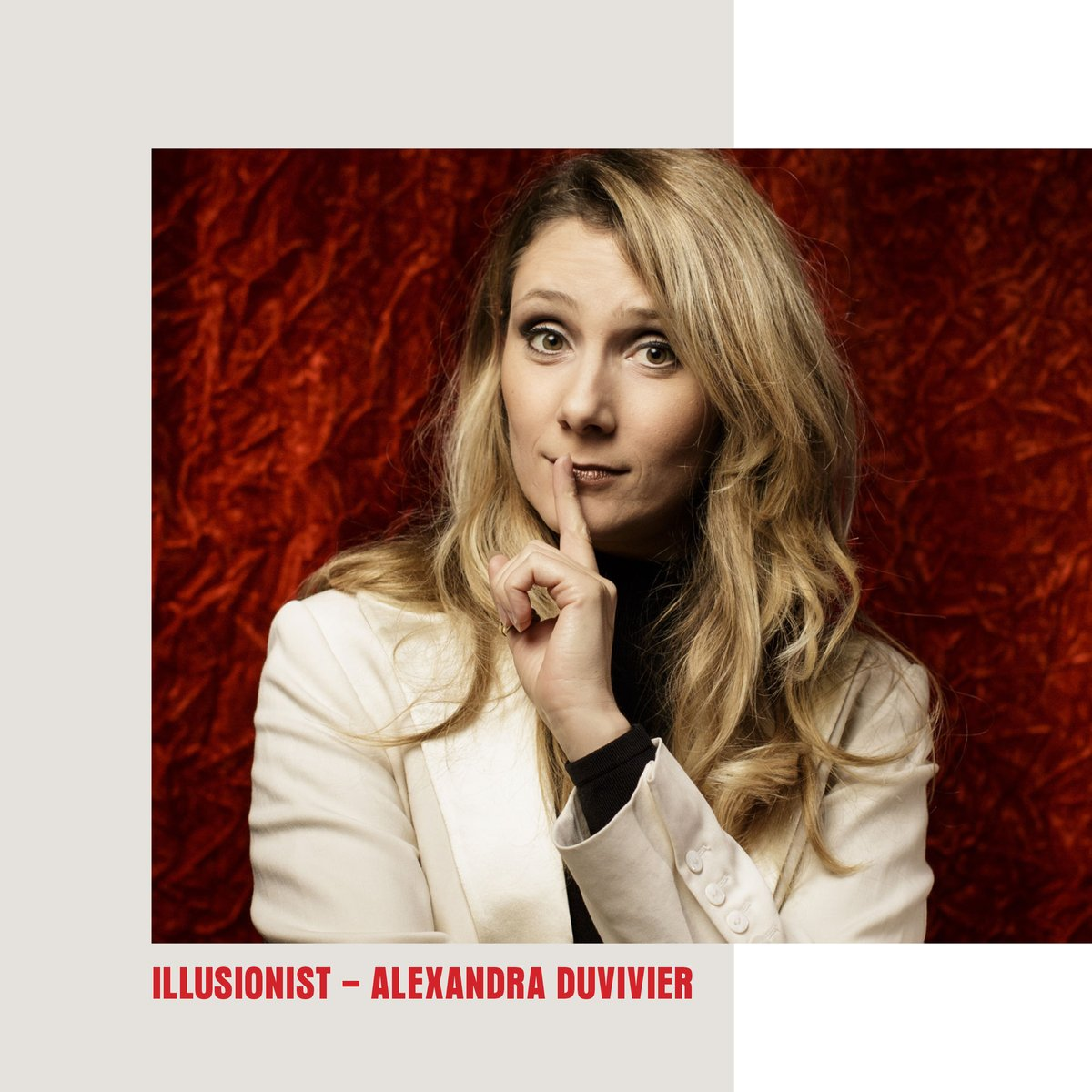 Meet our #magicians - Illusionist Alexandra Duvivier @ledoublefond to learn more go here  #Magic #illusionist #indiefilm #cardmagic #film #womeninmagic #FridayFeeling #movies #magician #magictrick #Mysteries