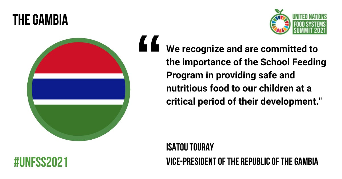 We recognize and are committed to the importance of the School Feeding Program in providing safe and nutritious food to our children at a critical period of their development.