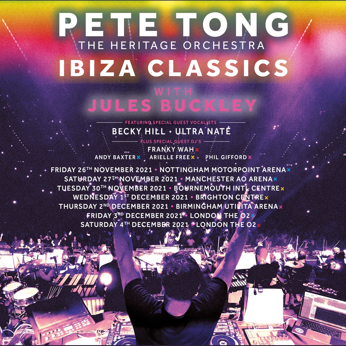 See you in a couple of months for our return to celebrating this music we love, in the best way we know how! Tickets: gigst.rs/PT @IbizaClassics_ @julesbuckley @HeritageOrc @Vulavox