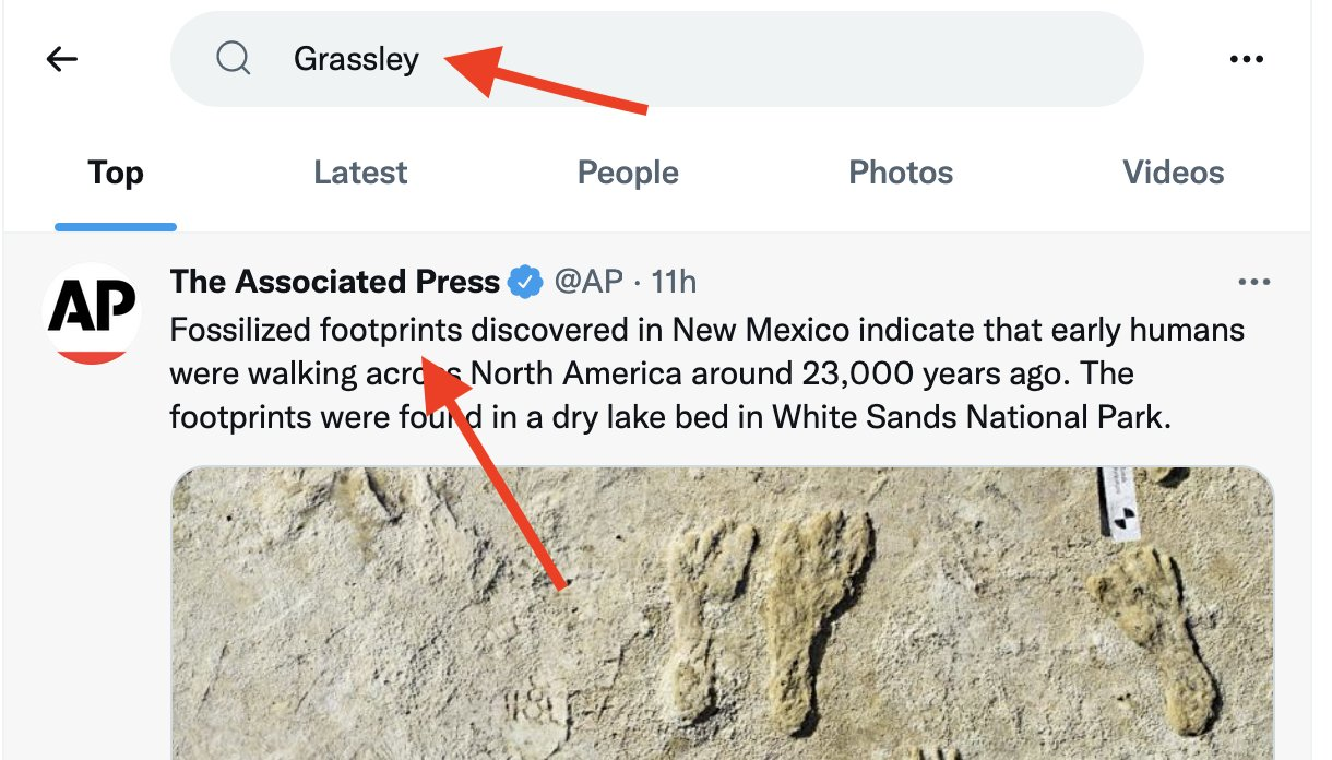 Grassley Twitter