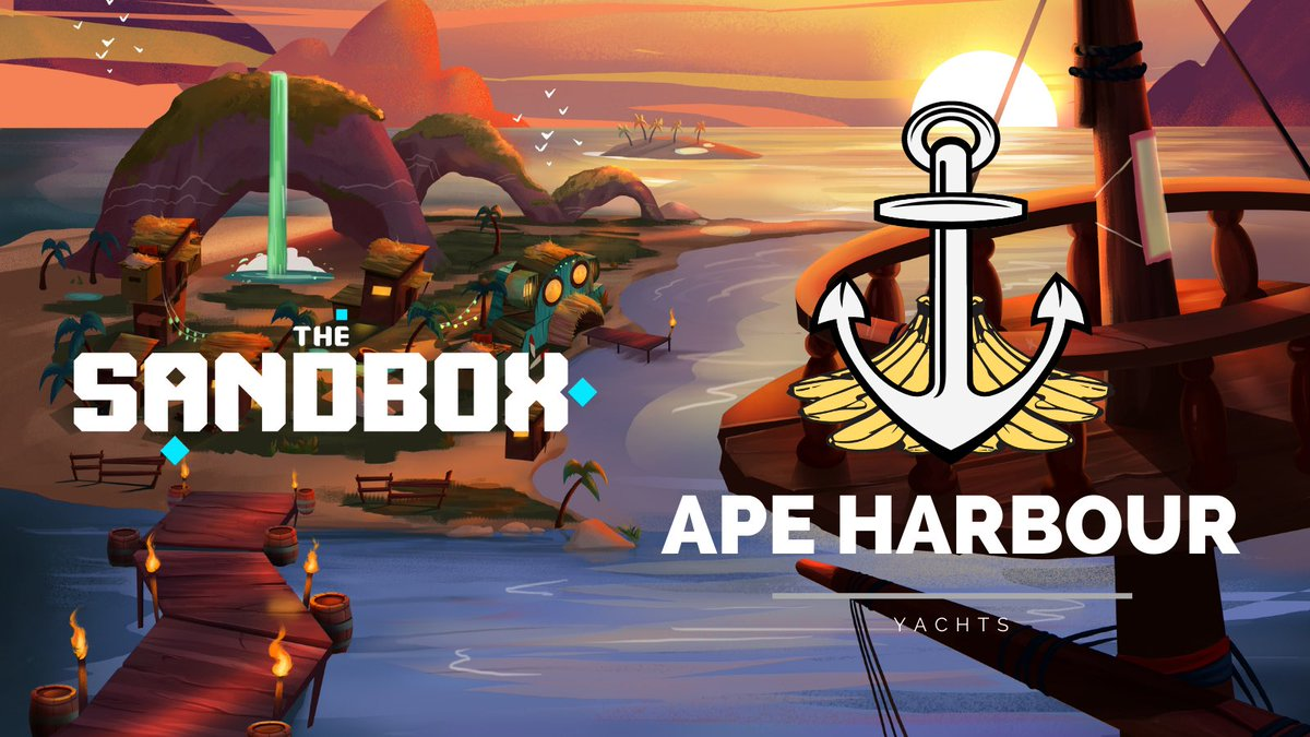 GM CAPETAINS 🔱 We are very excited to build a huge world full of apeventures in @TheSandboxGame for you!! What would you like to do there? ⛵️🎣🏝🏴☠️