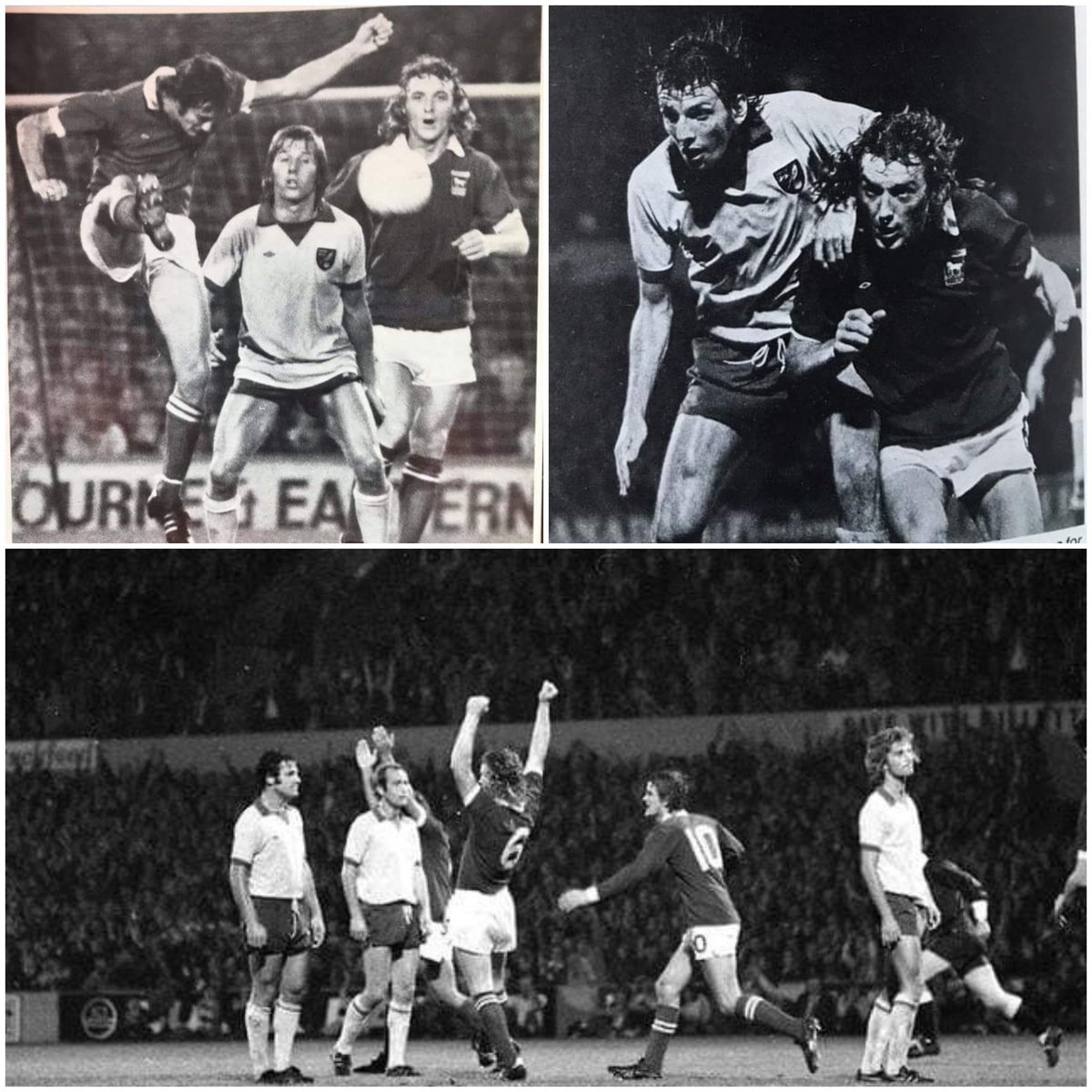 I remember the days we use to beat the budgies regularly and this shows why!! Not only did he score that day, he had their strikers in his pocket..Absolute monster of a player. 1975, biggest Derby crowd also witnessed this awesome display