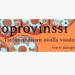 Image for the Tweet beginning: Eteläpohjalaista tutkimusta esittelevä Tietoprovinssi 2021