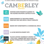 Image for the Tweet beginning: 💫Camberley Be Inspired 💫  The regeneration