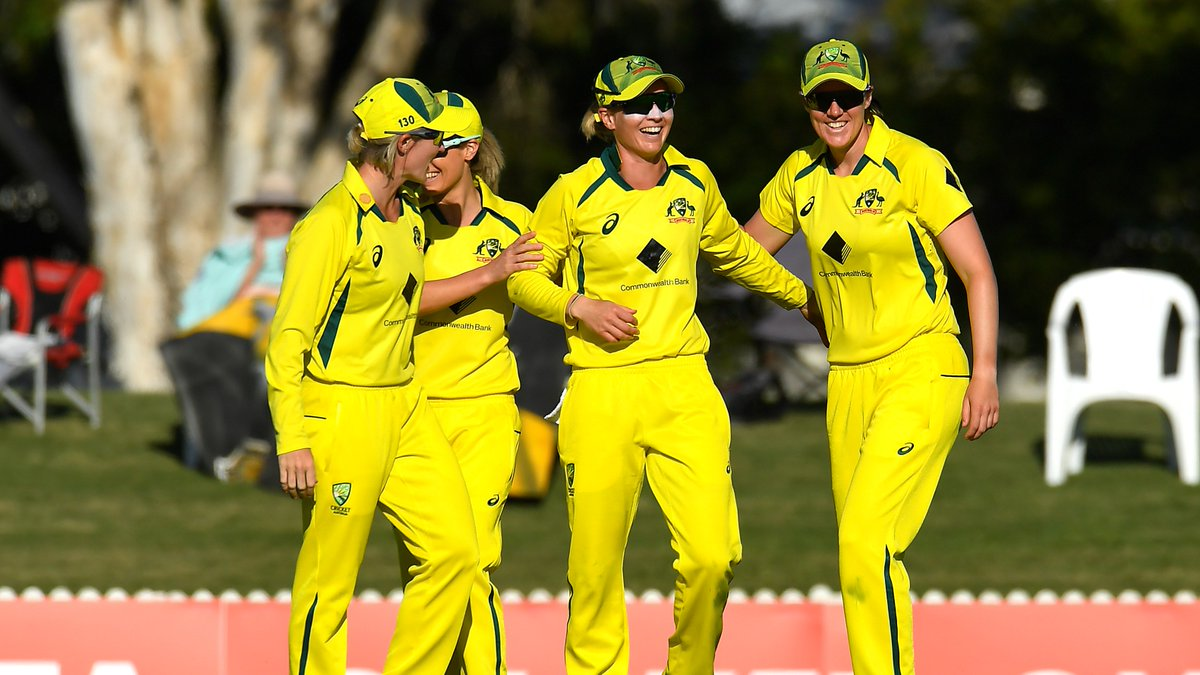 India score a formidable 274/7 – the highest total posted against Australia since the start of their ODI winning streak in 2018.  📺 Watch the action on  (select regions) 🧮 Follow live:  | #AUSvIND