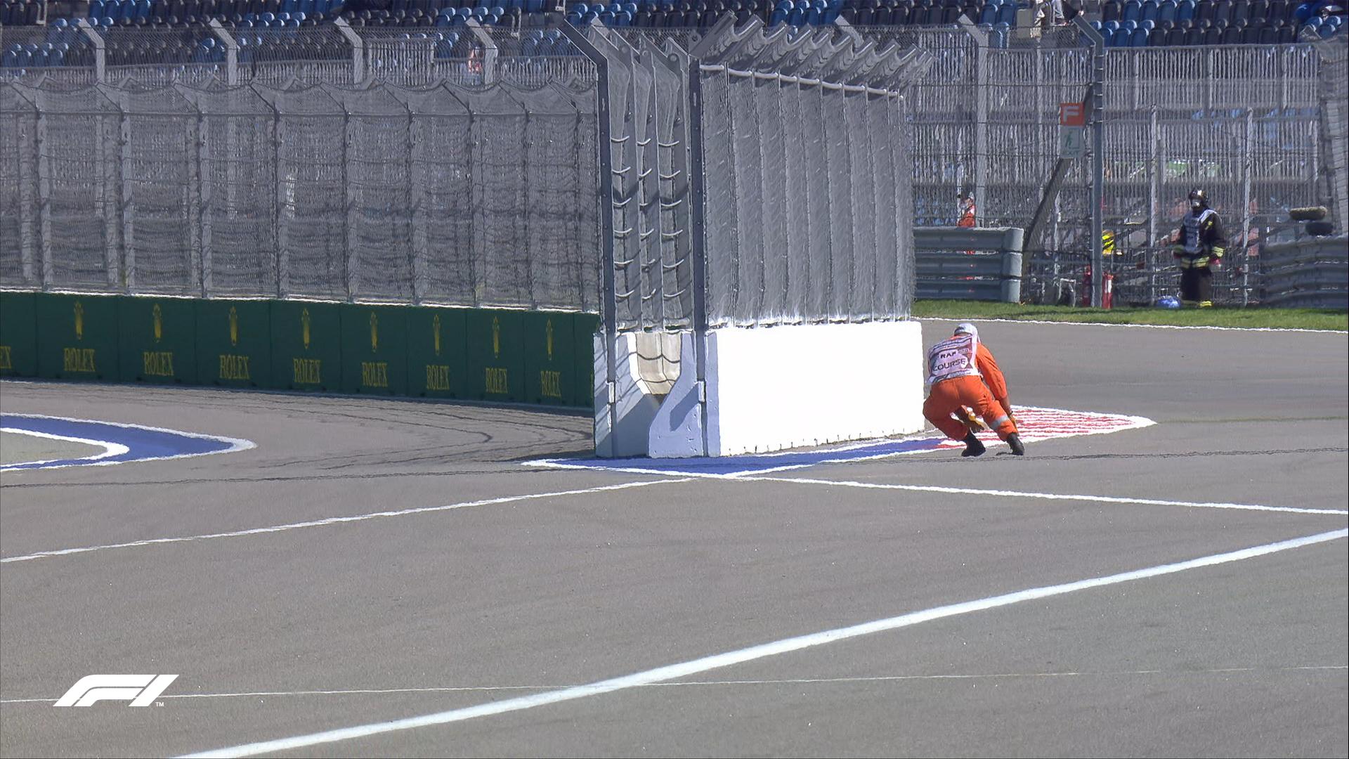 VSC podczas pierwszego treningu przed Grand Prix Rosji