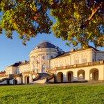 Image for the Tweet beginning: Outside of Stuttgart, Castle Solitude