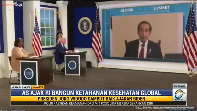 Jokowi Dipilih Biden Beri Masukan untuk Penanganan Covid-19 Global  Streaming: https://t.co/SOzNo2G83M  #metrotv #knowledgetoelevate #headlinenewsmetrotv #presidenjokowidodo #jokowidipilihbidenberimasukanpenanganancovid19 #joebiden https://t.co/AnqQi01rep