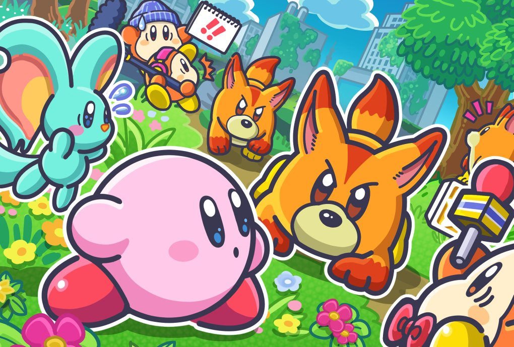 Are you excited for Kirby's next adventure? https://t.co/YkkyKMzxLm
