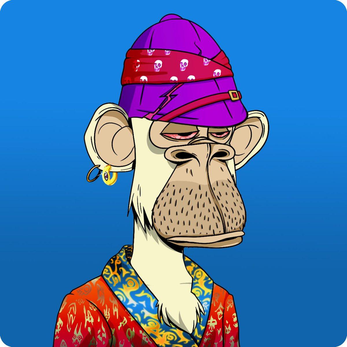 Bored like an Ape, dressed like a Mutant. BAYC x MAYC @BoredApeYC #BAYC #MAYC #NFT