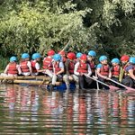 Image for the Tweet beginning: Action shots from Raft Building