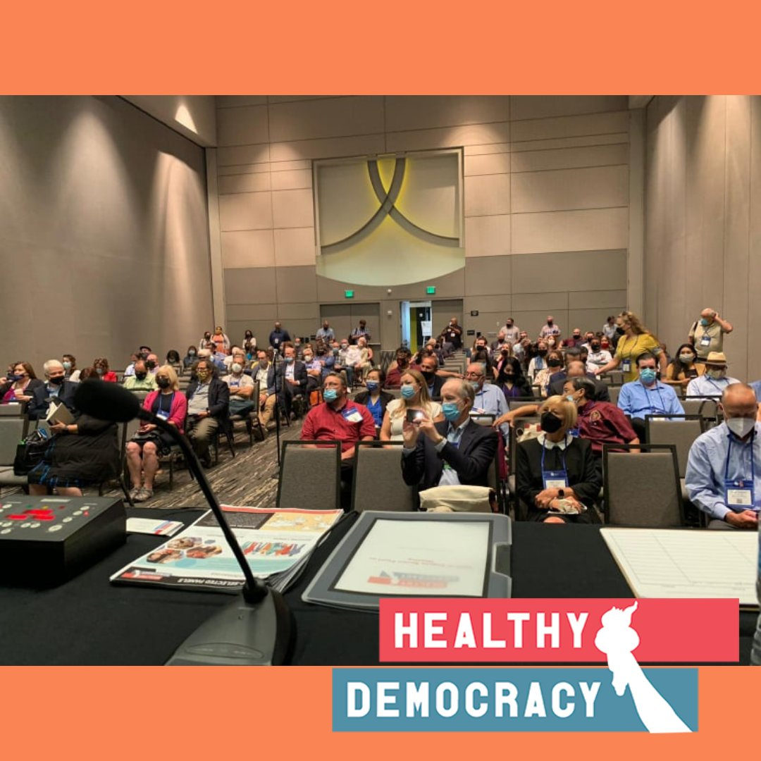 test Twitter Media - Tremendous turnout at our League California Cities Conference presentation on lottery-selected panels! Thanks so much to the extraordinary lottery-deliberation advocates here in California who made this happen. Wayne Liebman, @ChristiHogin @AlexFisch, Dennis Pocekay. #CalCities https://t.co/AchZdsIjNU