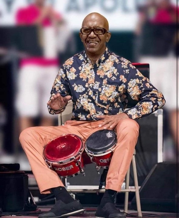 Another Legend of Latin Music got his wings 2day. RIP🙏  RIP ROBERTO ROENA 1940-2021 Roberto Roena was a Puerto Rican salsa music percussionist, orchestra leader, and dancer.Descanse en paz Roberto Rest in Rhythm....  @robertoroenaoficial  #descanseenpaz #restinpeace https://t.co/UyJwhtVN1U