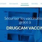 Image for the Tweet beginning: Sécuriser les vaccinations grâce à DRUGCAM