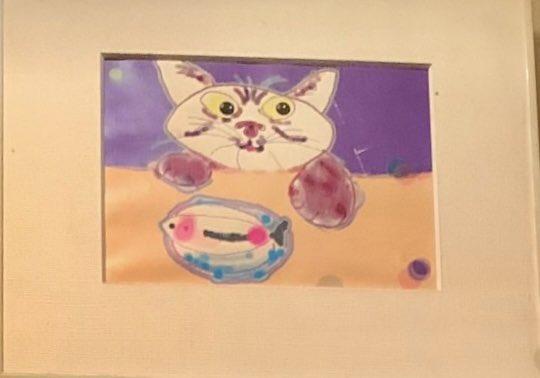 昔、芳忠先輩がプレゼントしてくれた猫