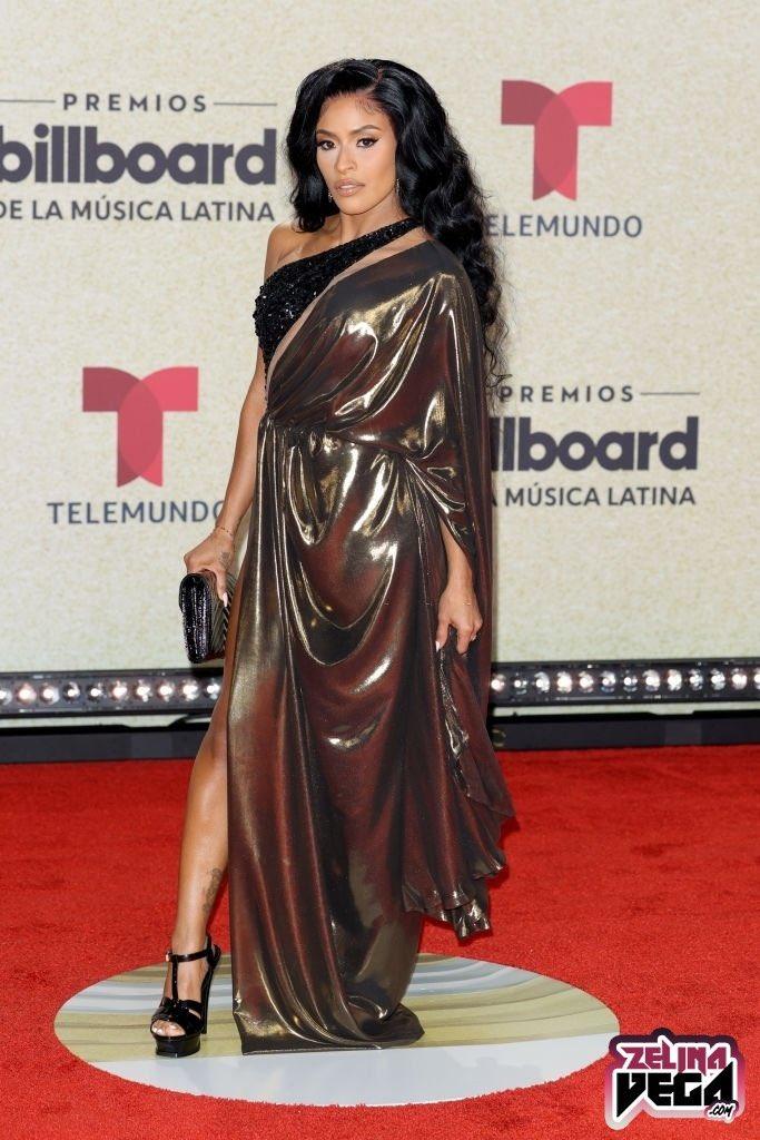 Photos: WWE Star Zelina Vega Sizzles At Latin Billboard Awards 2021 1