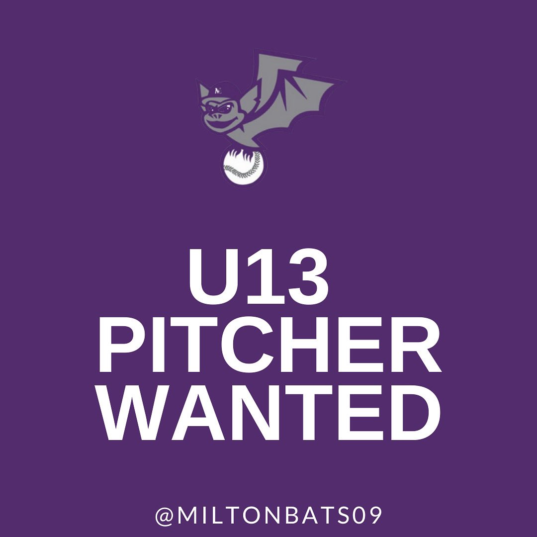 Our roster is shaping up nicely, but we still have room for one more pitcher.  If your 2009 or 2010 pitcher is still looking for the right fit, please feel free to reach out to Coach Rob for information.  robin_d_smith@yahoo.com  #FearTheBats #softball #pwsa #fastpitch https://t.co/3GMfRRTZhj