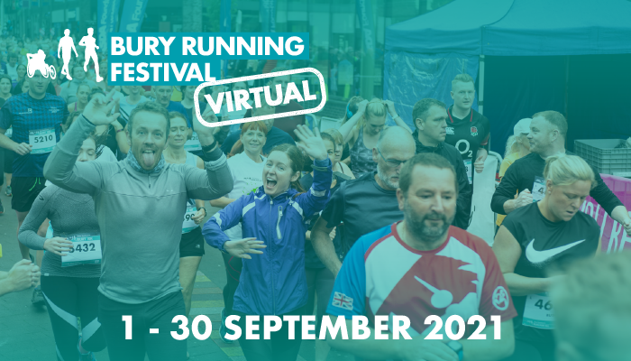 Run it, walk it, dance it, hop it!  There are many different ways you can take the #Bury10k Challenge this September.  For full details and to enter go to: https://t.co/w7ft6Ivrk3  #Bury10k #runforall #BuryMoving https://t.co/LcAVA145E1