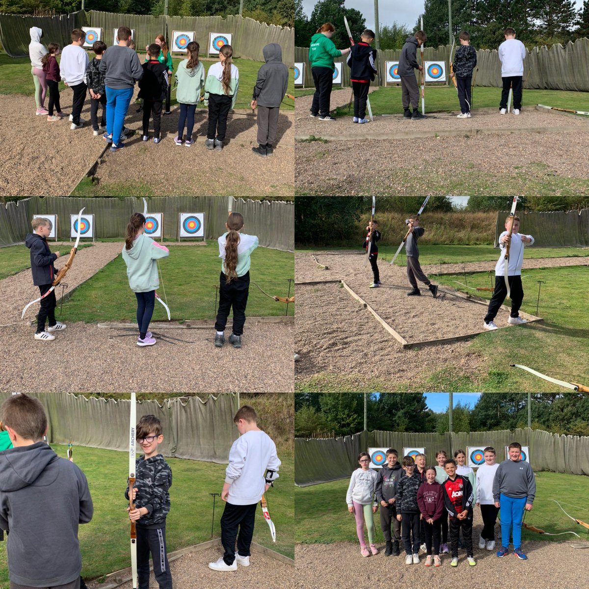 Group 1 finished their Kingswood adventure off with archery! 🏹🎯 What a wonderful few days it has been! The children really have loved their residential and they will have so many stories to share with you once they get back home. See you all soon!