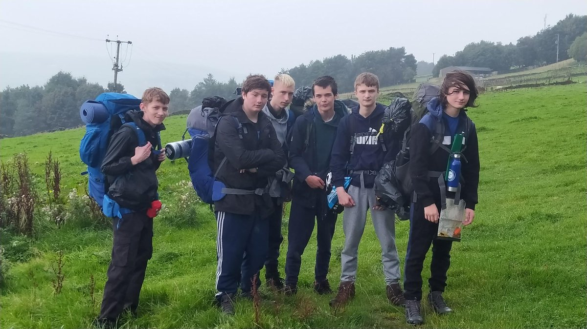 Our Duke of Edinburgh expedition has begun! ⭐️🗺️💙 Our students had a fab day despite the weather not being the best 😊