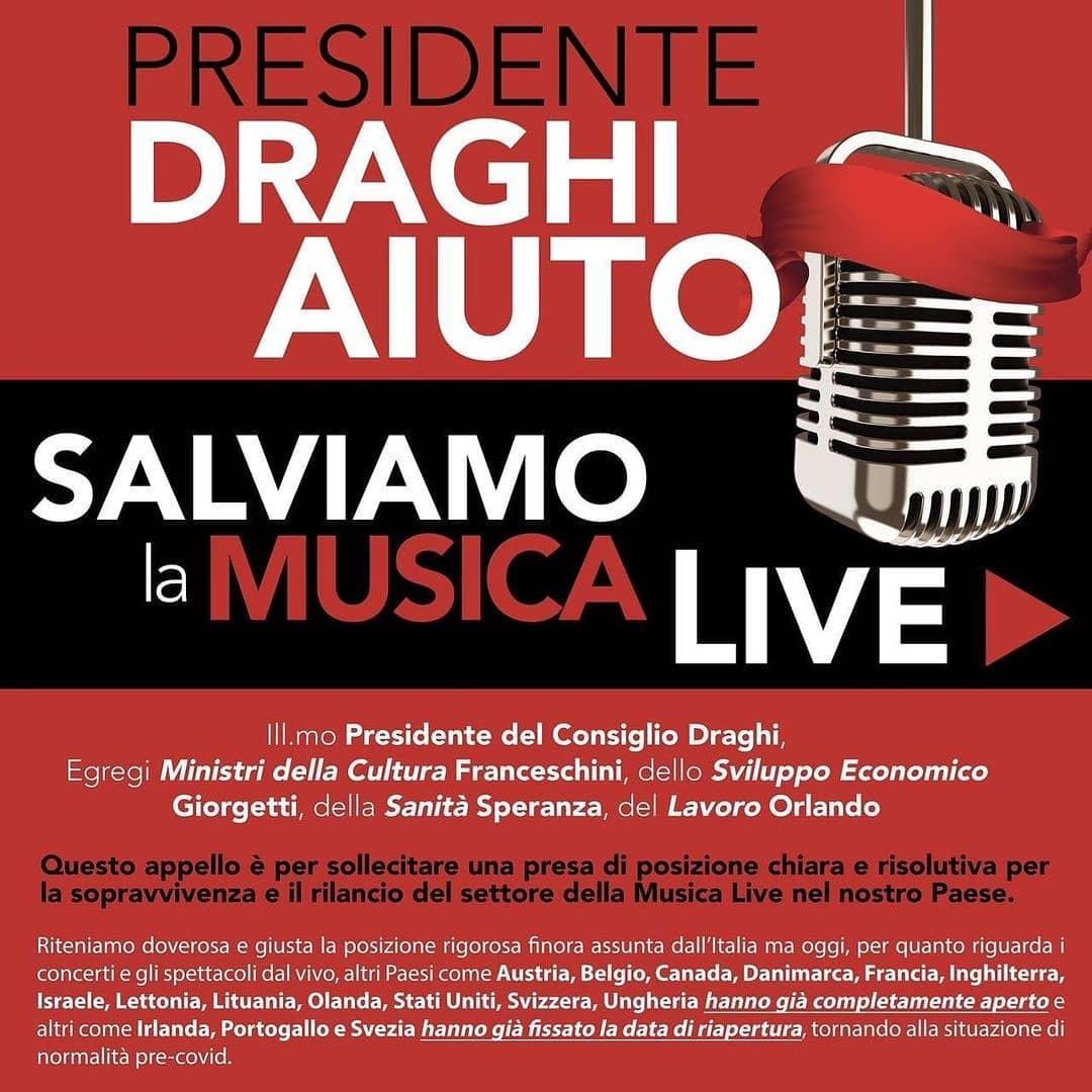 #salviamolamusicalive