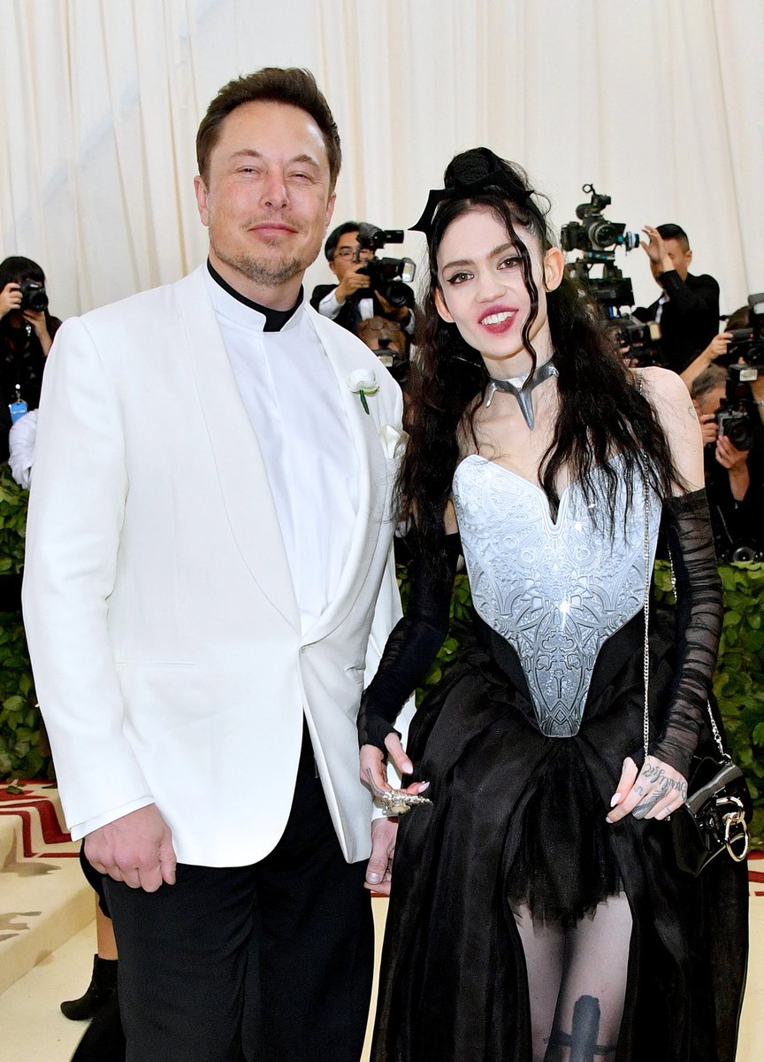 According to @PageSix, Elon Musk and Grimes have broken up after three years together.