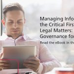 Image for the Tweet beginning: #InformationGovernance policies do more than