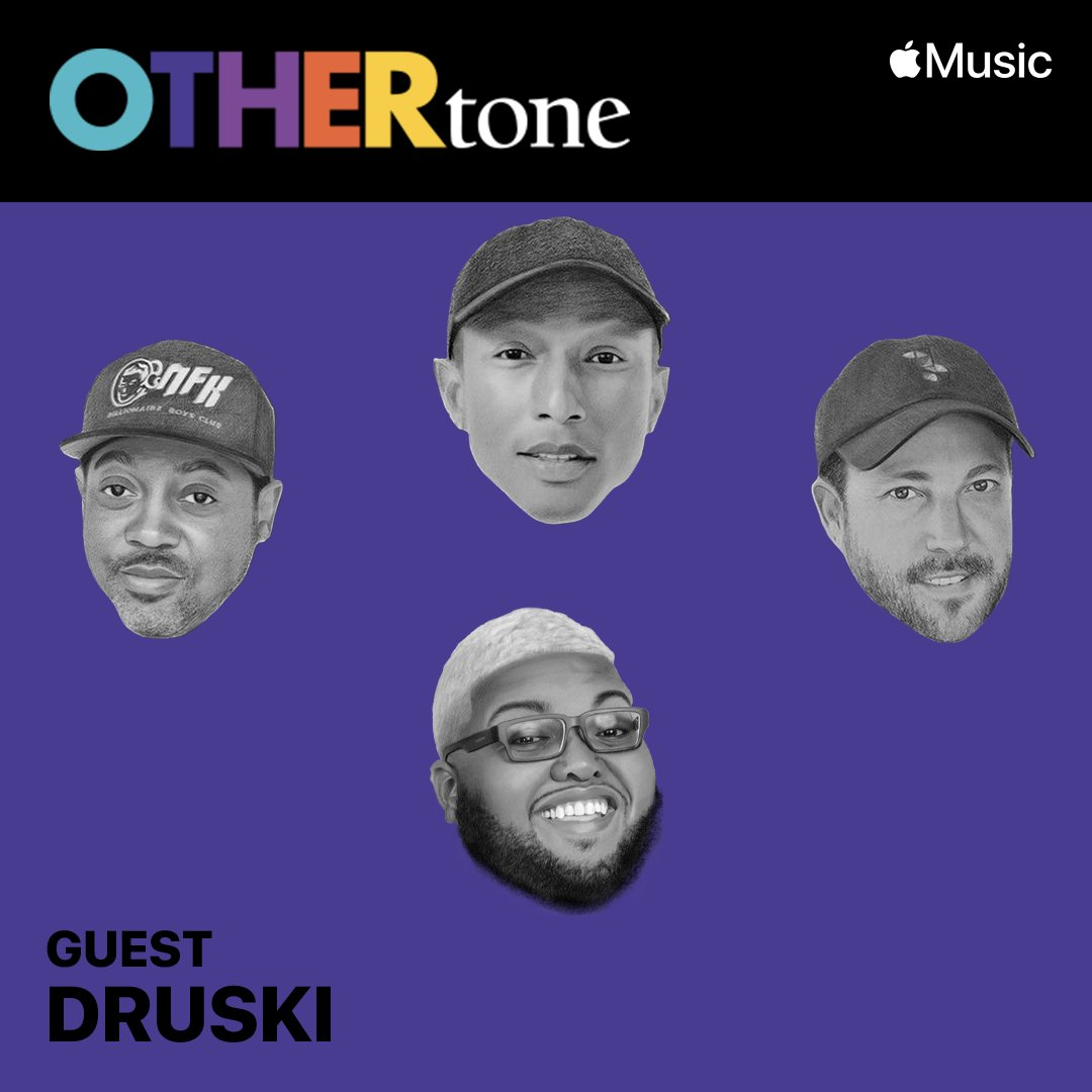 Our next guest is committed to making the world laugh. Be prepared to LOL with @Druski2Funny on #OTHERtone tomorrow at 3pm PT, only on @AppleMusic: https://t.co/2ZeIuznTk7 https://t.co/H1DaOHckBb