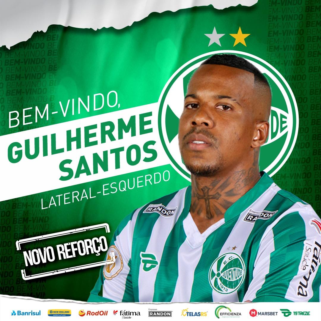 Lateral ex-Botafogo fecha com Juventude para disputa da Série A. Anúncio da rescisão de Guilherme saiu ontem à noite. #BotaENM